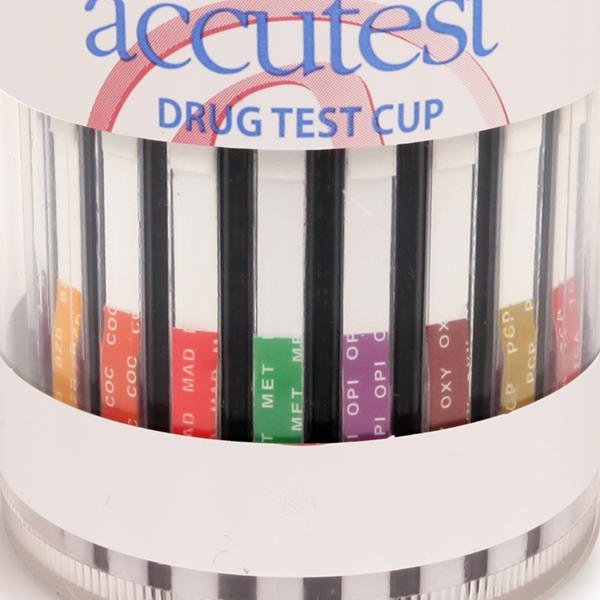 Accutest Drug Test Cup 6 Panel Clia Waived Drug Test Cup