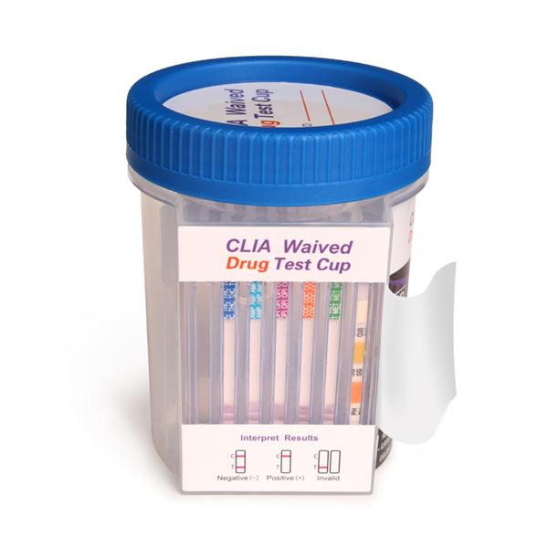 Drug Test Kits >> 5 Panel Drug Test Flat Cup Clia Waived With Adulterants 25 Box Coc Thc Opi Amp Mamp With Ox Sg Ph