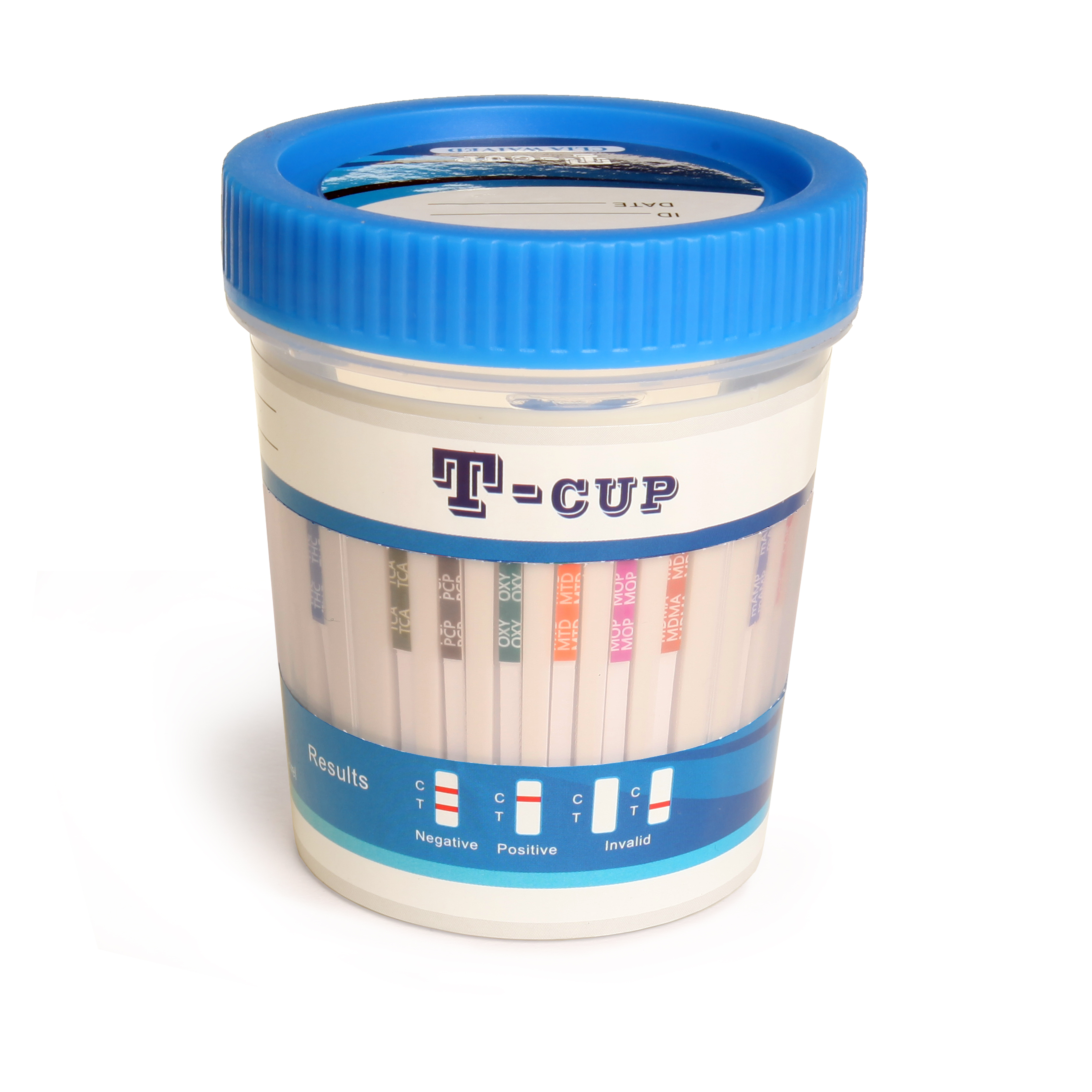 12 Panel Clia Waived T Cup Drug Screen Test With Adulterants