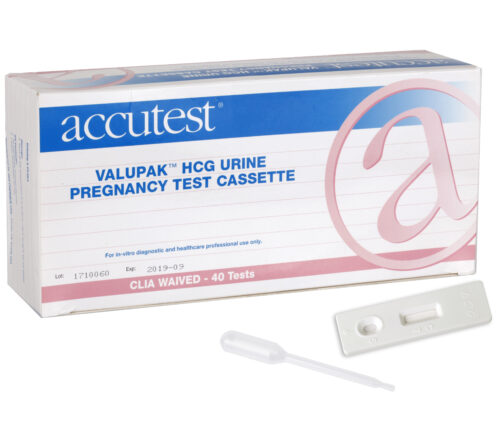 CLIA Waived Pregnancy Test Cassette